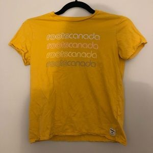 Yellow Roots T-shirt